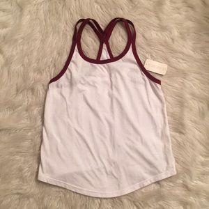 Forever 21 top maroon